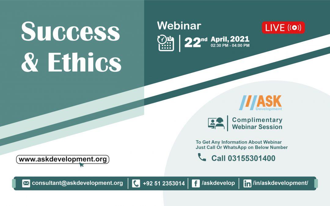 Success & Ethics